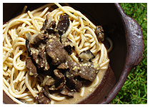 spaghetti-pilze