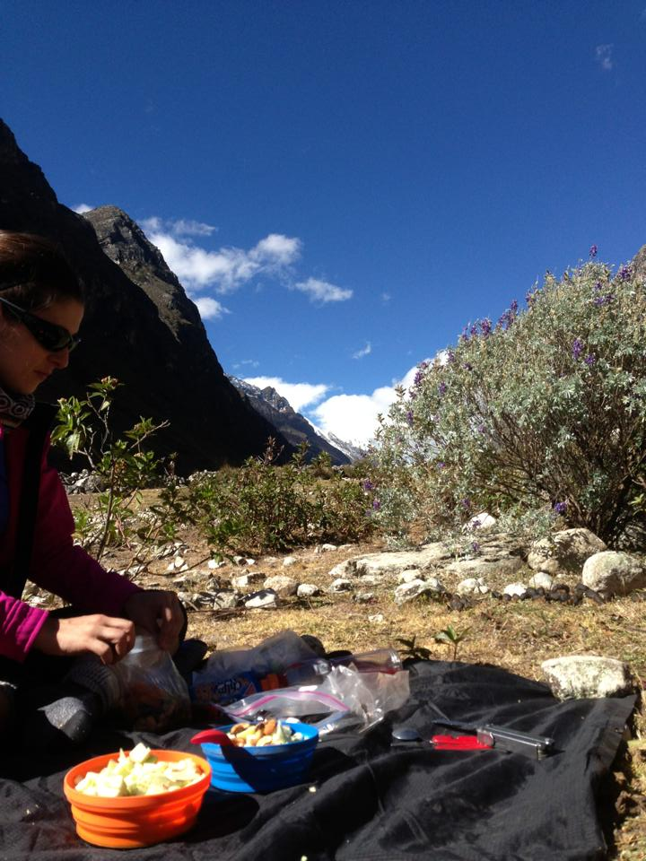 Información Nutricional para montañistas