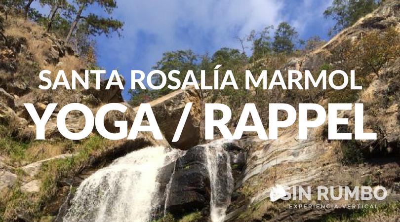 yoga y rappel en catarata santa rosalia de marmol zacapa guatemala