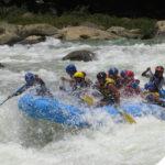 deportes de aventura rafting en el rio cahabon