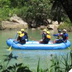 rafting en el rio cahabon y semuc champey guatemala