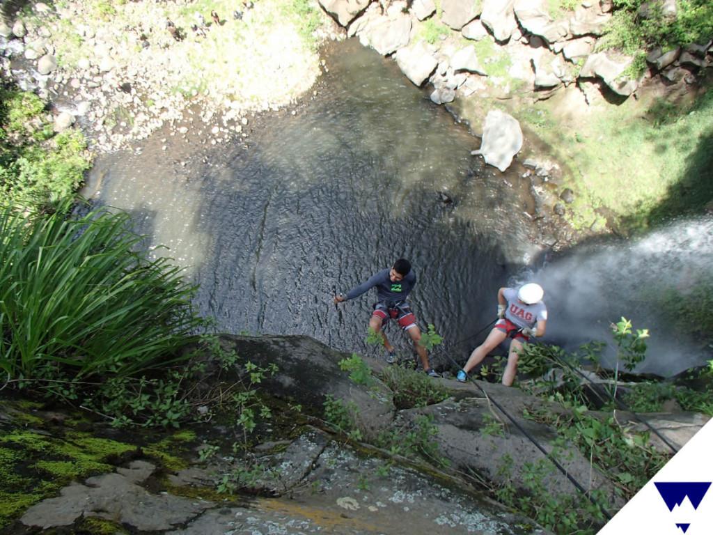 Rappel Catarata Concepción