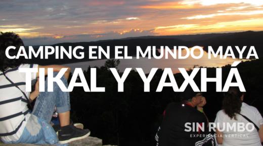 Tikal y Yaxhá Camping en el Mundo Maya guatemala