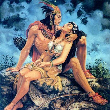 Iztaccíhuatl y Popocatépetl