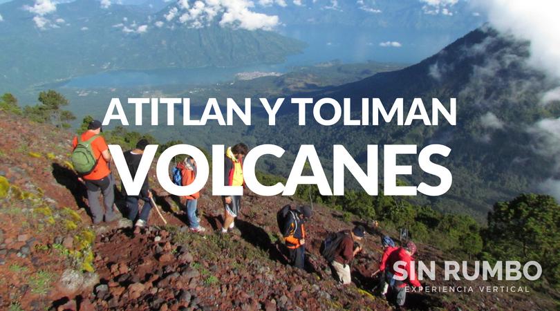 volcanes atitlan y toliman los gigantes del lago guatemala campamento y trekking