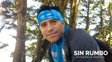 George Teque - Mountain guide and expert at reappelling for Sin Rumbo Guatemala