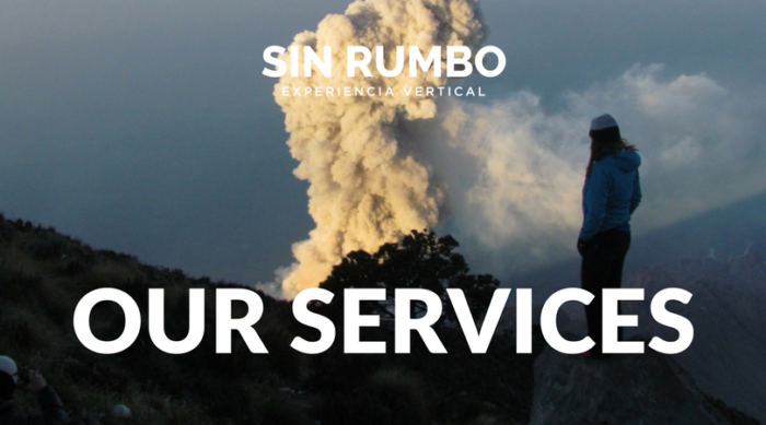 Sin rumbo Guatemala - Adventure guided tours - Services