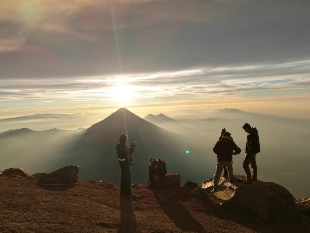 Highest Mountains in Central America - Acatenango Guatemala