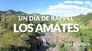 catarata los amates viaje de un día rappel aventura sin rumbo guatemala
