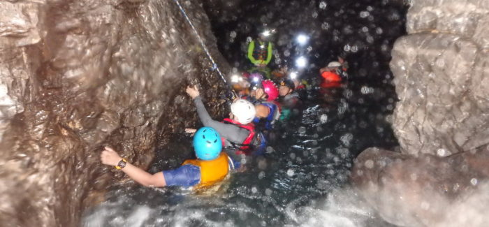 Extreme caving - caxlampon cave private tour Guatemala | Adventure travel