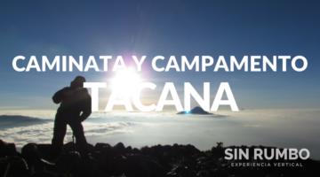 caminata guiada y campamento en el volcan tacana guatemala