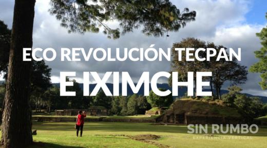Voluntariado eco viajero Tecpan iximche guatemala visita guiada