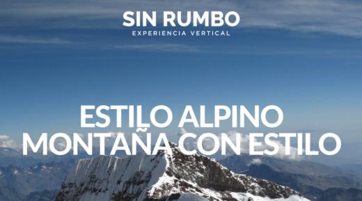 estilo alpino Montaña con Estilo - montañismo guatemala