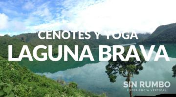 laguna brava y cenotes de Owjalhnab y yoga