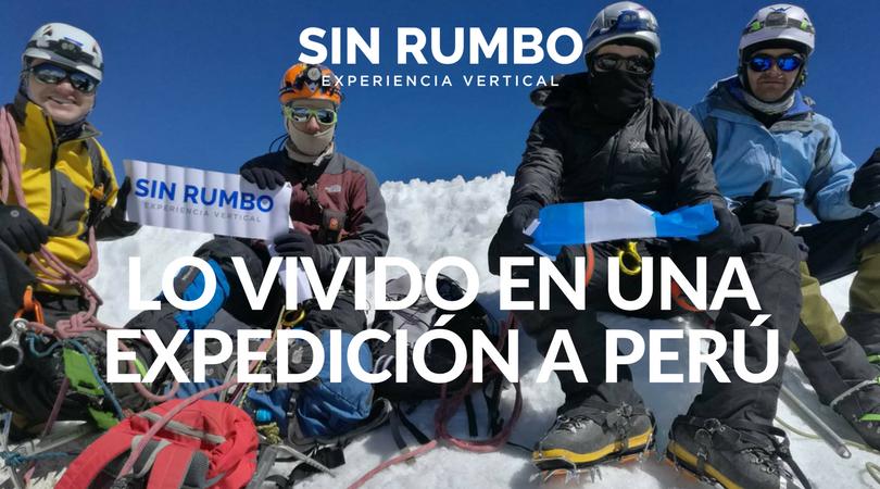 Lecciones Huaracinas, Lo Vivido en una Expedicion a Perú