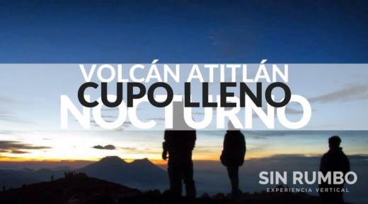 volcán atitlán cupo lleno