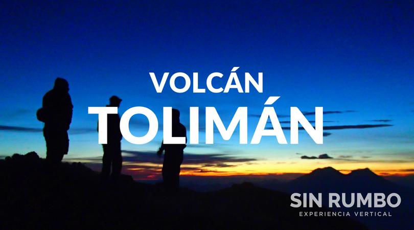 Caminata y campamento Volcan toliman guatemala